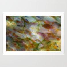 Abstract Dots Art Print