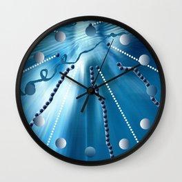 H²O en compression Wall Clock