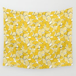 ginkgo leaves (yellow) Wall Tapestry