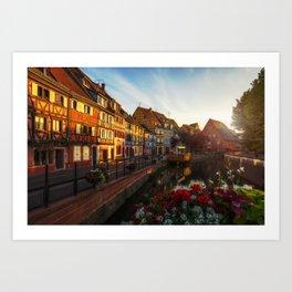 Colmar - Petite Venice Art Print