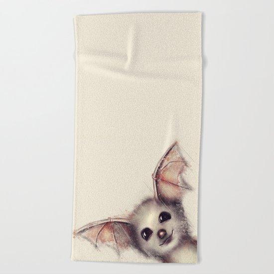 What the Fox? Beach Towel
