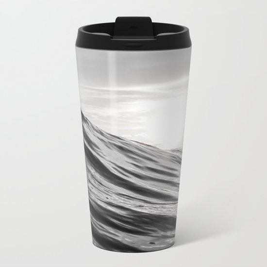 Motion of Water Metal Travel Mug
