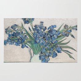 Vincent van Gogh - Irises (1890) Rug