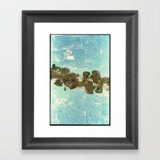 Landscapes c9 (35mm Double Exposure) Framed Art Print