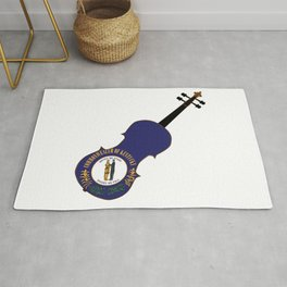 Kentucky State Fiddle Rug