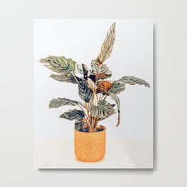 Botany || #illustration #painting #nature Metal Print