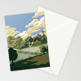 Greene Farm, GA / The Walking Dead Stationery Cards