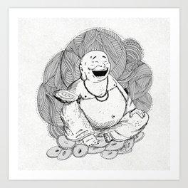 Hotei, Buda , Budda, Budha  Art Print