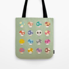 How to Tell A Poison Mushroom Tote Bag