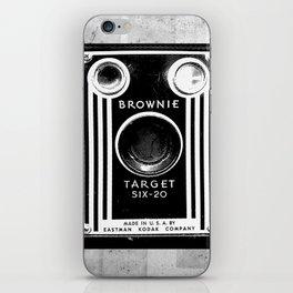 Ben-Day Kodak Brownie Camera  iPhone Skin