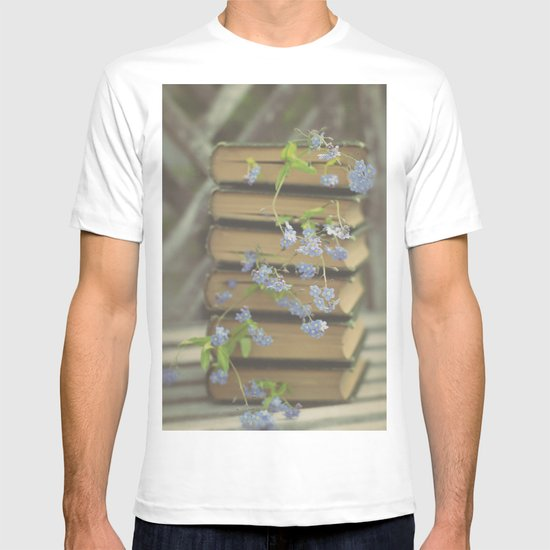 Forget Me Not Bookmark T-shirt