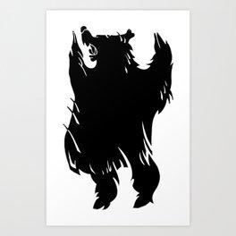 Ursa Noir Art Print