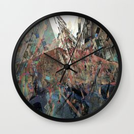effectively syncopating the coherence in actuality Wall Clock
