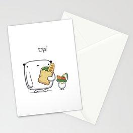 OPi Buy Vegetables Stationery Cards