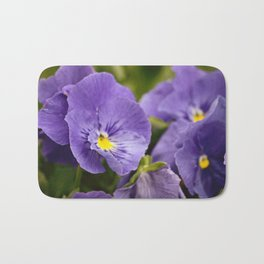 Purple Ruffles Bath Mat