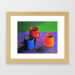 Morning Cup of Coffee Framed Art Print