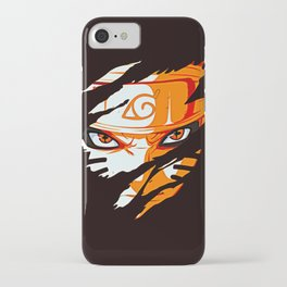 Face of Naruto iPhone Case