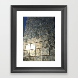Mirror Glass Framed Art Print