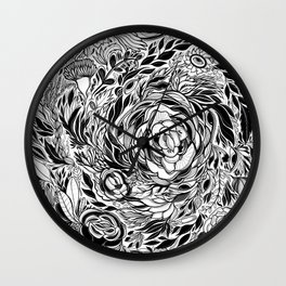 Dangerous Objects Wall Clock