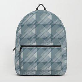 Modern Geometric Pattern 7 in Teal Backpack
