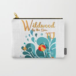 Oh Those Wildwood Daze Carry-All Pouch