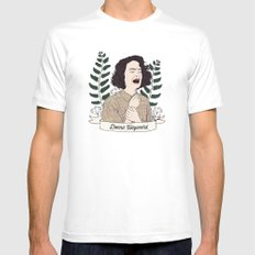 Twin Peaks (David Lynch) Donna Hayward Mens Fitted Tee LARGE White