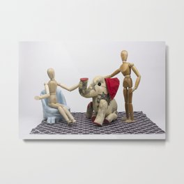 The Elephant in the Room Metal Print