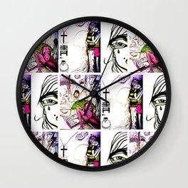 Sketches Wall Clock