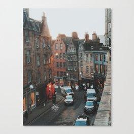 Golden Hour in Edinburgh Canvas Print