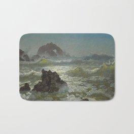 Albert Bierstadt - Seal Rock, California Bath Mat