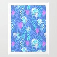 New Palm Beach - Summer Art Print