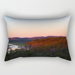 cottage morning Rectangular Pillow
