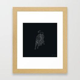 RAGING BULL Framed Art Print