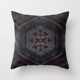 Metal Hex Throw Pillow