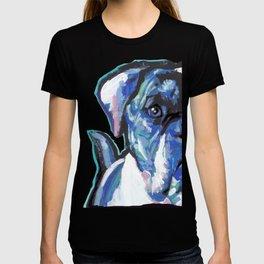 American Bulldog Pop Art by Lea T-shirt