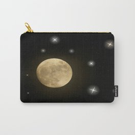 Moon is on Carry-All Pouch