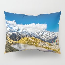 New Zealand Mount Cook Aoraki Pillow Sham