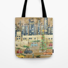 Driving Home for Christmas Tote Bag
