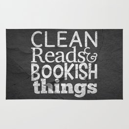 Clean Reads & Bookish Things - CRBB Motto Rug