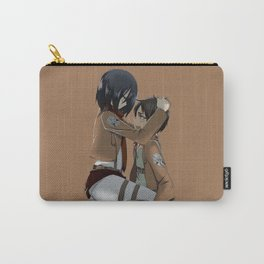 Mikasa with Eren Carry-All Pouch