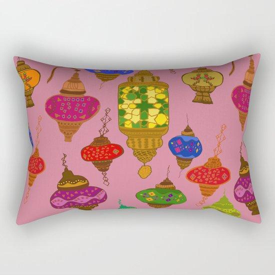 Istanbul lamps Rectangular Pillow