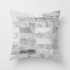 Marble Wall Throw Pillow