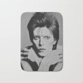 David Bowie Starman Bath Mat
