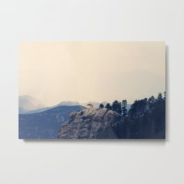 Mountain Bliss Metal Print