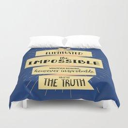 The Truth Duvet Cover