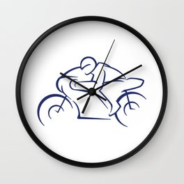 Motor racing Wall Clock