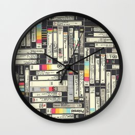 VHS II Wall Clock