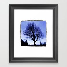 WinterMorning Framed Art Print