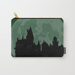 Castle - Green, Large Moon Carry-All Pouch