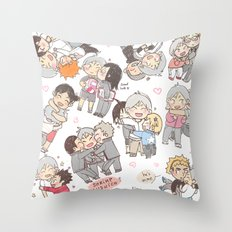 Suga is all the hugs Throw Pillow